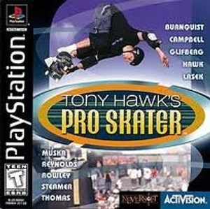 Tony Hawk's Pro Skater - PS1 Game