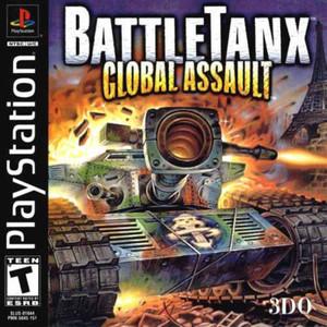 BattleTanx:Global Assault - PS1 Game