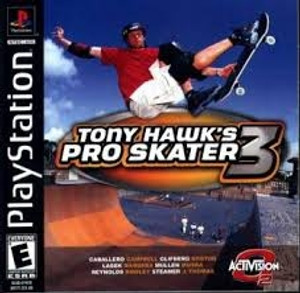 Tony Hawk's Pro Skater 3 - PS1 Game