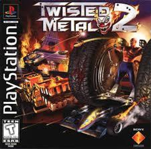 Twisted Metal 2 - PS1 Game