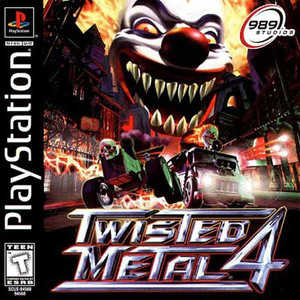 Twisted Metal 4 - PS1 Game