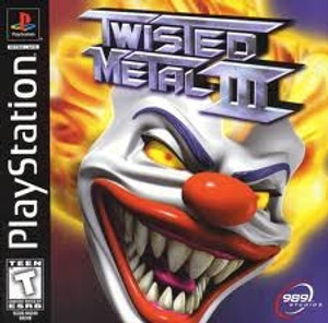 Twisted Metal III - PS1 Game