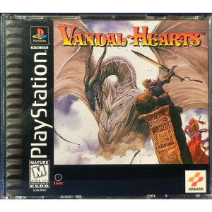 Vandal Hearts - PS1 Game