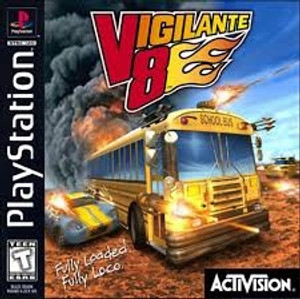 Vigilante 8 - PS1 Game