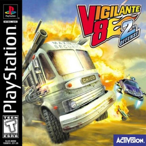 Vigilante 8 2nd Offense - PS1 Game