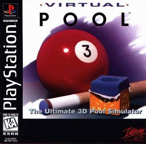 Virtual Pool - PS1 Game