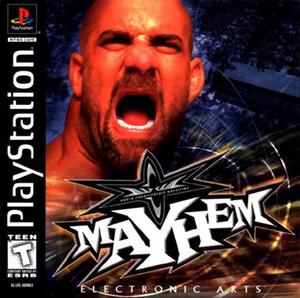 WCW Mayhem - PS1 Game