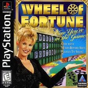 WHEEL OF FORTUNE - PS1 Game