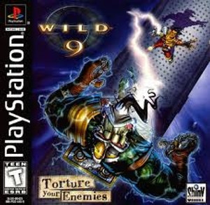 Wild 9 - PS1 Game