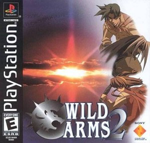 Wild Arms 2 - PS1 Game