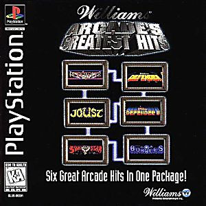 Williams Arcade's Greatest Hits - PS1 Game