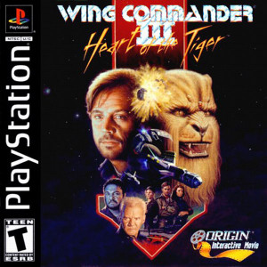 Wing Commander III - PS1 Game