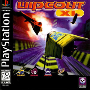 WIPEOUT XL - PS1 Game