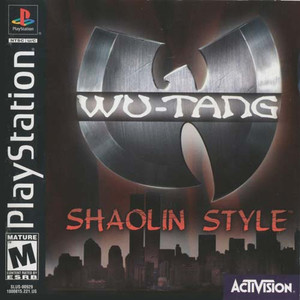 Wu-Tang Shaolin Style - PS1 Game