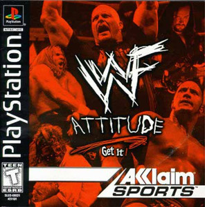 WWF Attitude - PS1 Game