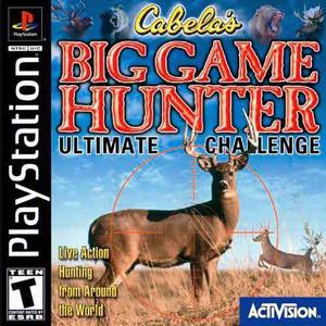 Cabela's Big Game Hunter:Ultimate - PS1 Game