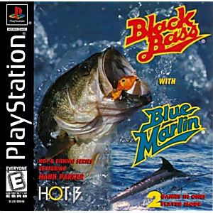 Black Bass with Blue Marlin - PS1 Game