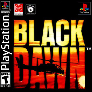 Black Dawn Video Game For Sony PS1