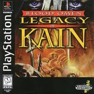 Blood Omen Legacy of Kain - PS1 Game