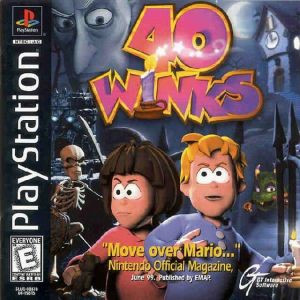 40 Winks - PS1 Game