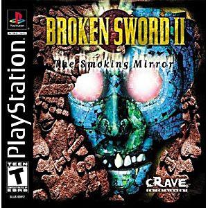 BROKEN SWORD II - PS1 Game