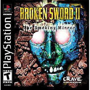 BROKEN SWORD II - PS1 Game