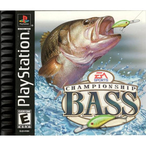 Championship Bass Video Game For Sony PS1