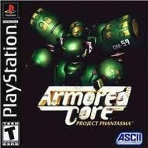 Armored Core Project Phantasma - PS1 Game