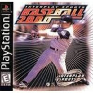 Baseball 2000 - PS1 Game