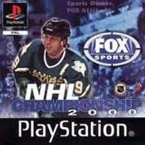 NHL Championship 2000 - PS1 Game