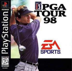 PGA Tour 98 - PS1 Game