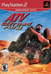 ATV Offroad Fury - PS2 Game