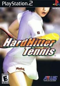 Hard Hitter Tennis - PS2 Game