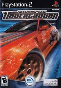 Need For Speed Underground - PS2 Game