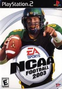 NCAA Football 2003 - PS2 Game