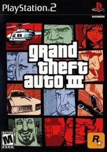 Grand Theft Auto III - PS2 Game