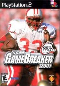NCAA Game Breaker 2001- PS2 Game