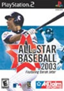 All Star Baseball 2003- PS2 Game