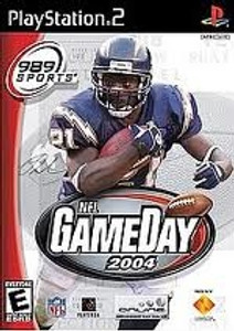 NFL Gameday 2004 - PS2 Game
