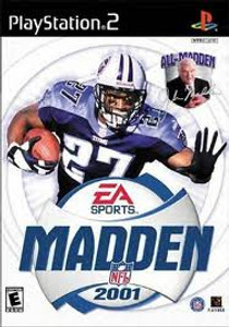 Madden 2001 - PS2 Game