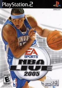 NBA Live 2005 - PS2 Game