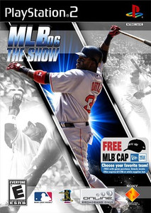MLB 2006 The Show- PS2 Game