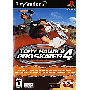 Tony Hawk's Pro Skater 4 - PS2 Game