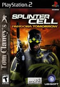 Splinter Cell Pandora Tomorrow - PS2 Game