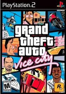 Grand Theft Auto Vice City - PS2 Game