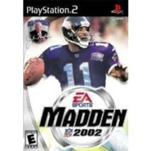 Madden 2002 - PS2 Game