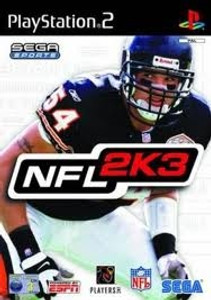 NFL 2K3 Football - PS2 Game
