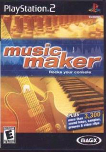 Magix Music Maker - PS2 Game