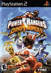 Power Rangers Dino Thunder - PS2 Game