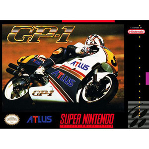 GP-1 (GP1) - SNES Game